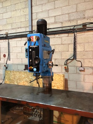 Ibarmia A50 Powered Pillar Drill