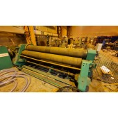 Steco 3000mm x 13mm 4 Roll Initial Pinch Bending Rolls